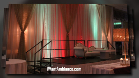 iWantAmbiance.com. Home of all your uplighting needs