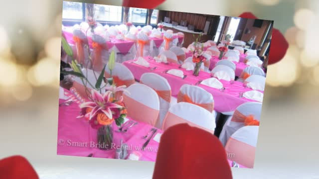 Smart Bride Rental Chair Covers