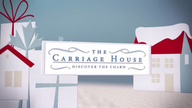The Holidays at The Carriage House