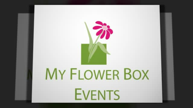 My Flower Box Event's Weddings