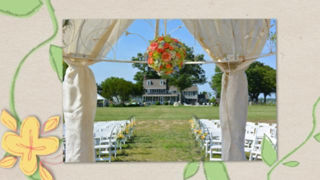 Spring Weddings at Black Walnut Point Inn